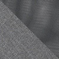 Серый, ткань / Серый, сетка
