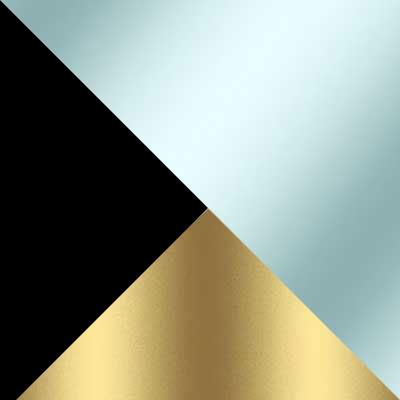 Черно-золотой / Прозрачный