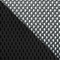 Сетка черная / черный TW-11