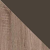 Дуб Сонома трюфель / Экокожа коричневая