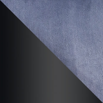 HLR-21 Серый, велюр / Черный матовый