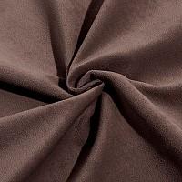 Темно-коричневый, велюр
