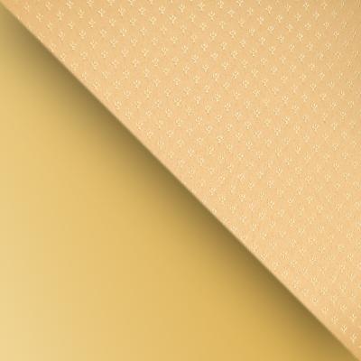 Каркас золото / Обивка бежевая (узор короны)