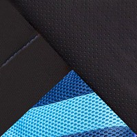 Черный / Синий, искусственная кожа/ткань
