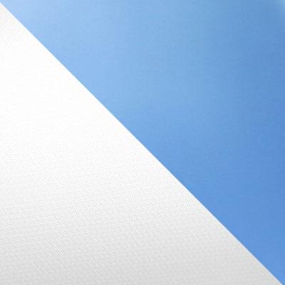 Белый / Голубой