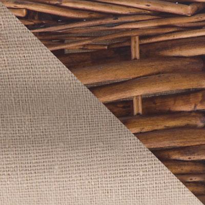 Ивовая лоза / Орех, ткань