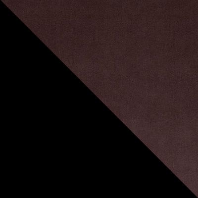 Шоколад V07, микровелюр / Черный, металл