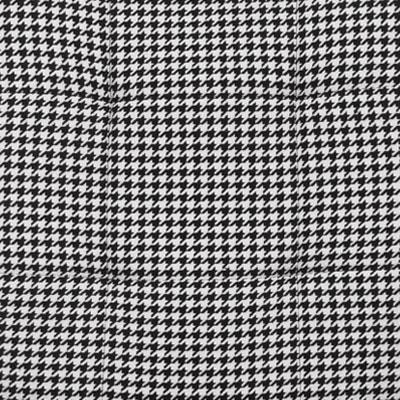 Черно-белый рисунок, ткань