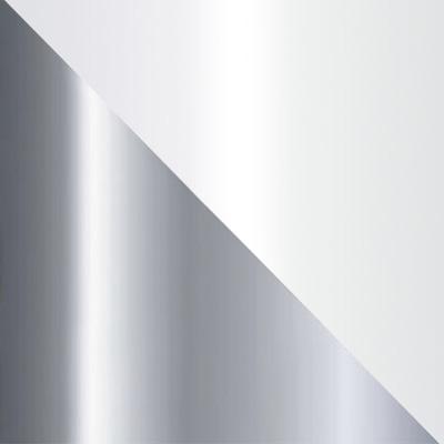 Хром, металл / Белый, стекло
