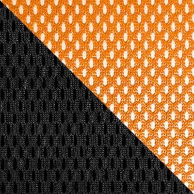 TW-11 Черный, ткань / TW-38-3 Оранжевый, сетка