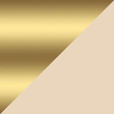 Золотой / Бежевый