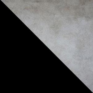 Бетон / Черный, металл