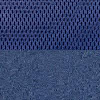Сетка синяя / Искусственная кожа синяя