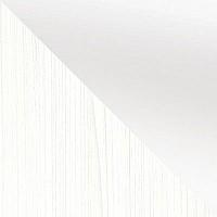 Белый (тиснение «Поры дерева») / Белый глянец