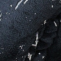 Черный (мазки), фланель