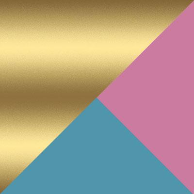 Золотой / Разноцветный