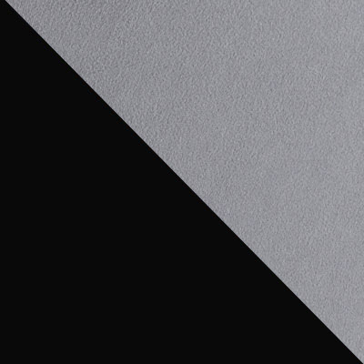 Серый, велюр / Черный, металл