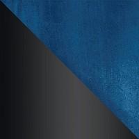 HLR-63 Сине-зеленый, велюр / Черный матовый