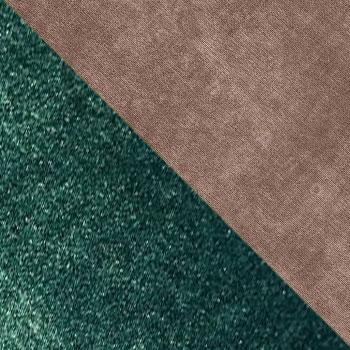 Зеленый / Коричневый, велюр