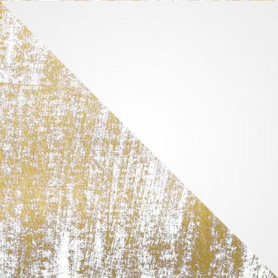 Белый золотая патина / Белый