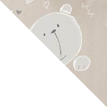 Белый / Дуб Пастельный (Teddy)