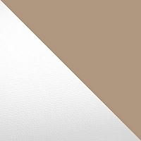 Белый / Бежево-серый