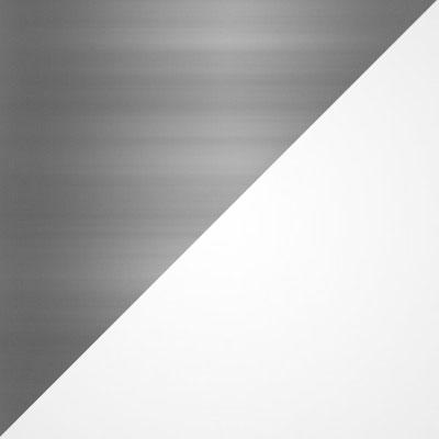Матовый никель / Белый