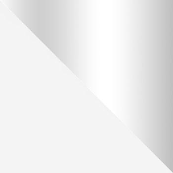Белый / Стекло прозрачное