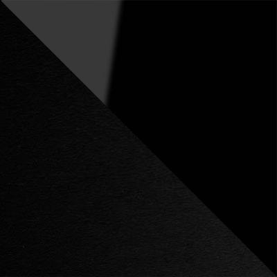 Черный глянец / Черный, металл