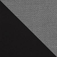 Черный матовый / Серый микровелюр