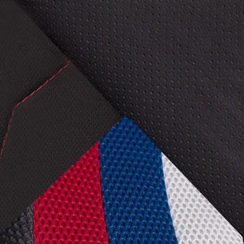 Белый / Синий / Красный / Черный, искусственная кожа/ткань