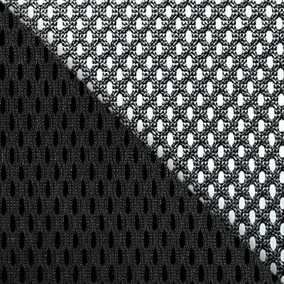 TW-11 Черный, ткань / TW-01 Черный, сетка