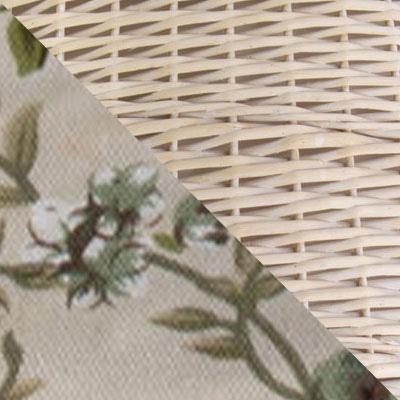 Ивовая лоза / Розы, ткань