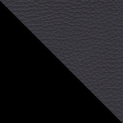 Черный, металл / Черный, экокожа