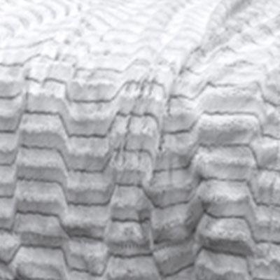 Серый, искусственный мех