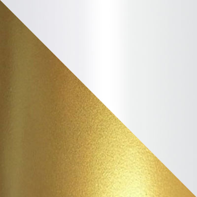 Золото, металл / Белый, стекло