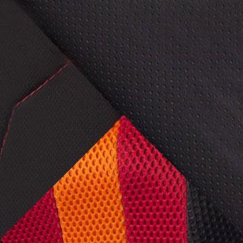 Черный / Красный,искусственная кожа/ткань