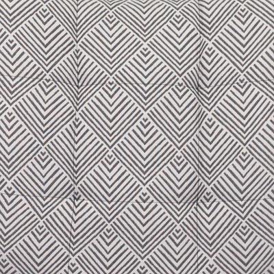 Серый рисунок 1, ткань