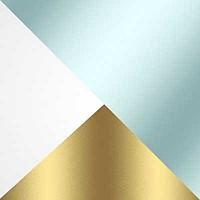 Бело-золотой / Прозрачный
