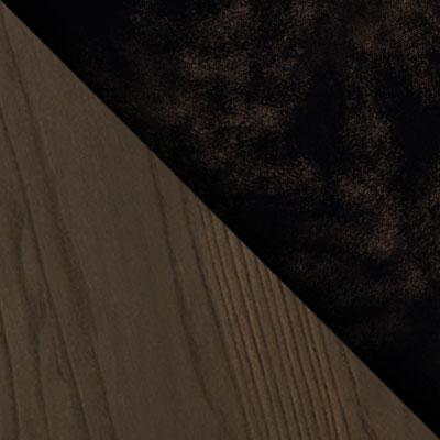 Черный / Патина золото / Темное дерево