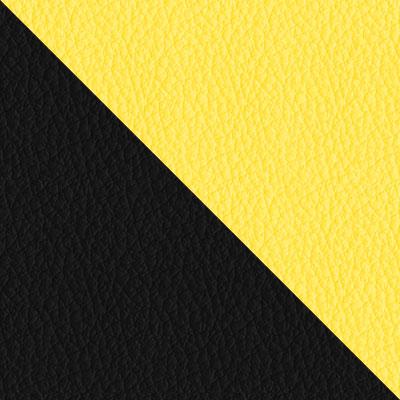Черный, экокожа / Желтый, экокожа