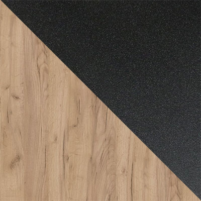 Дуб Табачный Крафт / Черный муар