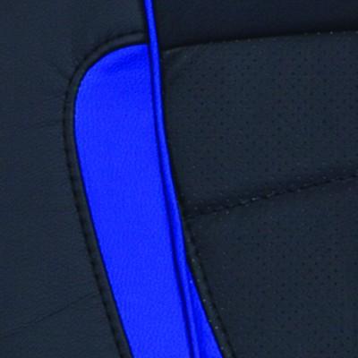 BL+BLUE черный / синий искусственная кожа