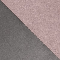 Темно-серый / Розовый, велюр