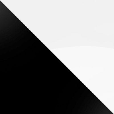 Черный / Белое стекло