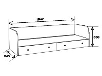 Кровать 500-104645