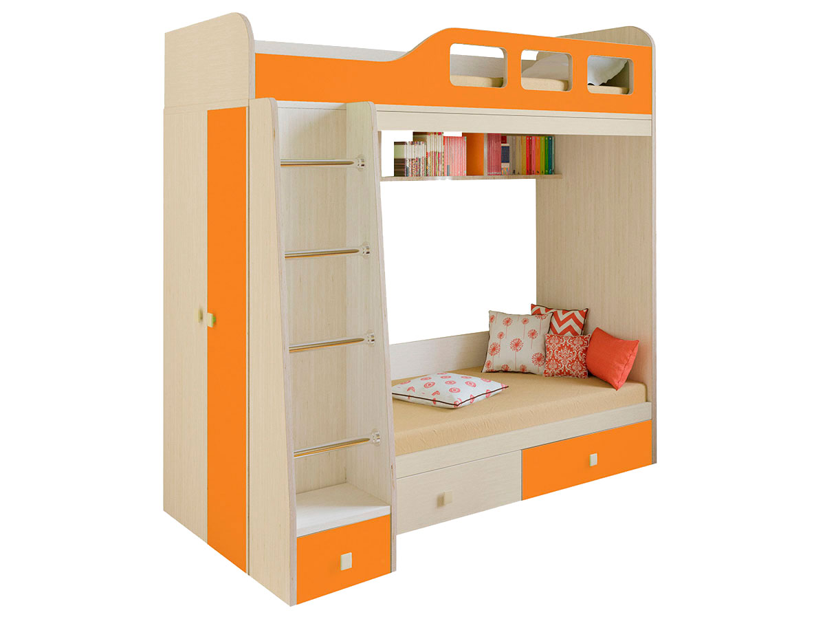 Двухъярусная кровать 108-41864