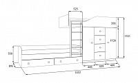 Кровать 500-92343