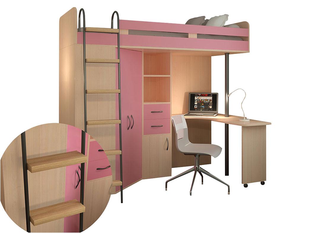 Кровать-чердак 150-57870
