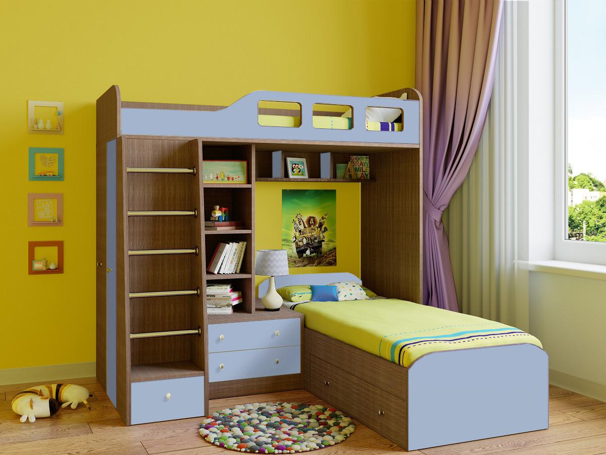 Двухъярусная кровать 150-92404